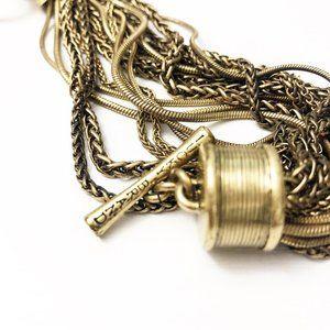 Lucky Brand Gold Boho 20-Strand Twist Bracelet
